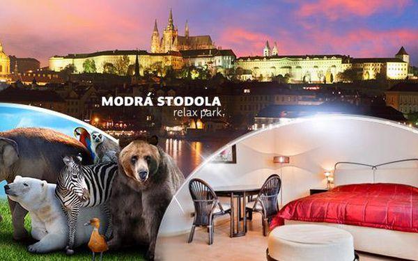 Praha, rodinný pobyt na 3 až 5 dní pro 2 dospělé a 2 děti do 6 let vč. snídaní, oběda či večeře a vstupu do ZOO!