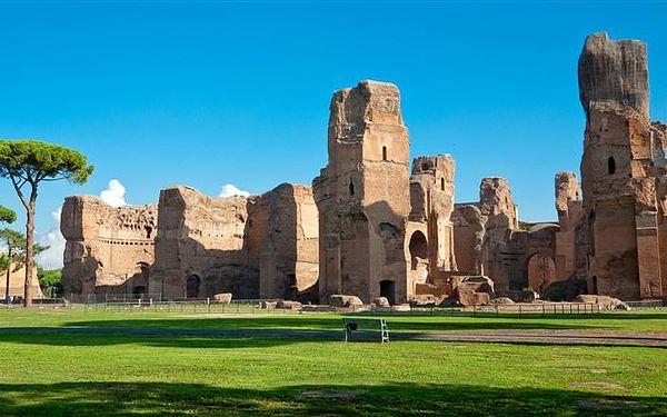 Řím a Tivoli – z běžného života Římanů a jejich do, Řím, Itálie, autobusem, snídaně v ceně