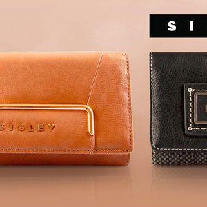 Peněženky Sisley: Stylový kabát pro vaše peníze