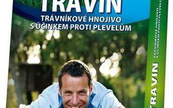 Granulované hnojivo Agro Travin 20kg, které hnojí a zároveň hubí plevel