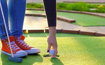 Adventure golf pro dva v Horních Věstonicích