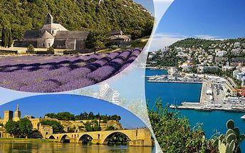 Francouzská Provence a koupání v Nice: poznávací zájezd s dopravou a ubytováním se snídaní