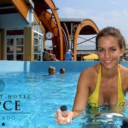 Neomezený wellness a polopenze v luxusním Hotelu Répce*** v maďarských lázních Bükfürdő