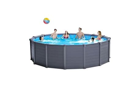 Bazén Intex Graphite Panel Set 4,78 x 1,24 m - kompletset s pískovou filtrací