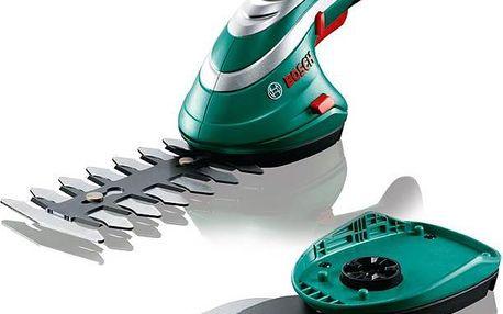 Lehké aku nůžky na trávu i keře Bosch Isio 3 s dobou provozu až 50 minut