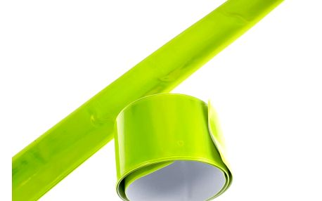 Reflexní náramek páska na ruku samonavíjecí