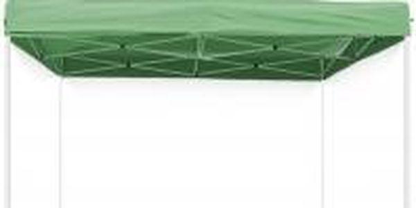 Nůžkový stan 3 x 3 m (zelený)