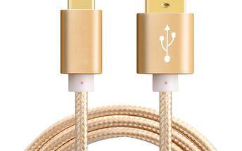 Univerzální USB kabel ve více barevných variantách - 1 m