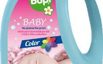 BUPI Baby Color tekutý prací prostředek pro citlivou pokožkou 3L