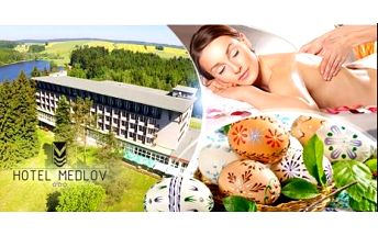 Vysočina, Hotel Medlov*** na 3-4 dny pro dva s polopenzí! Velikonoční last minute nebo wellness pobyt do 12/2016