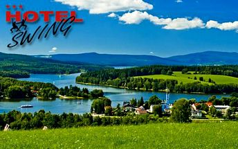 Dovolená na Lipenské přehradě s polopenzí, infrasaunou a bazénem v Hotelu*** Swing + děti do 6 let zdarma