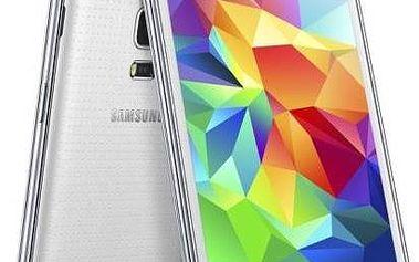 Mobilní telefon Samsung Galaxy S5 mini (SM-G800) (SM-G800FZWAETL) bílý + dárek Voucher na skin Skinzone pro Mobil CZ + Doprava zdarma