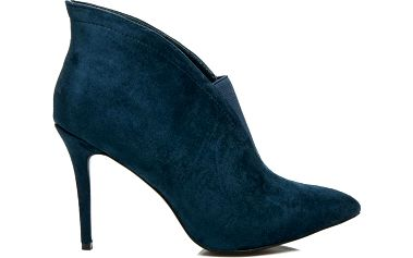 DIAMANTIQUE Semišové boty na podpatku 8863DK.BL 41