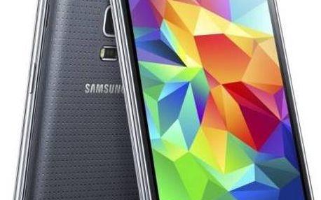 Mobilní telefon Samsung Galaxy S5 mini (SM-G800) (SM-G800FZKAETL) černý + dárek Voucher na skin Skinzone pro Mobil CZ + Doprava zdarma