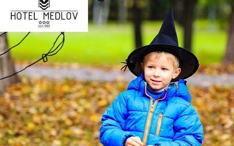 Čarodějnický víkend pro rodiny s dětmi v srdci Vysočiny