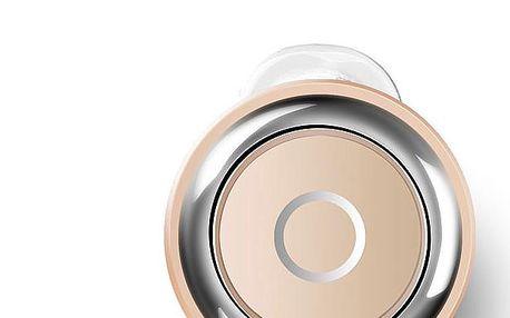 Stylové bezdrátové sluchátko s mikrofonem - kulatý tvar