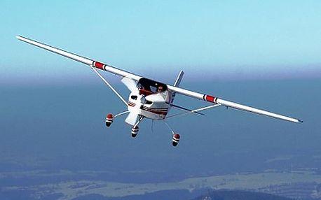 Pilotem letadla na zkoušku. Vyberte si zda poletíte ULL Skylane nebo ULL Eurostar 20 nebo 30 minut!
