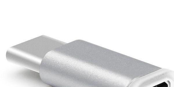 USB-C na micro USB (F) adaptér - více barevných variant