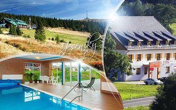 Jeseníky na jaře či v létě na 3 nebo 4 dny pro 2 osoby s polopenzí + bazén a sauna v Hotelu Park Ostružná***!
