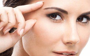 Omlazení očního okolí a pozvednutí očních víček