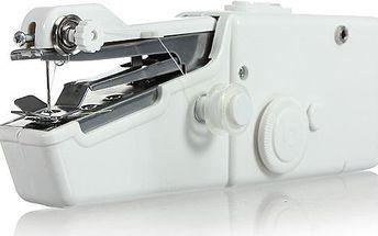 Ruční šicí stroj - bílá barva - poštovné zdarma