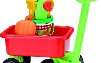 ECOIFFIER Retro vozík s konvičkou a přísl.