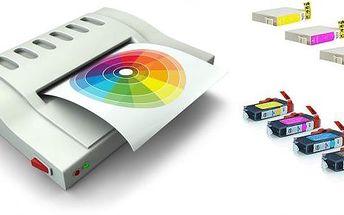 Kompatibilní sada náplní pro použití v tiskárnách Canon nebo Epson! Jasné barvy, kvalitní inkoust a speciální čip uvnitř každého balení pro bezproblémový chod Vaší tiskárny!!