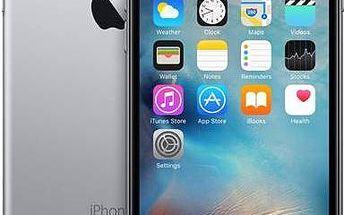 Apple iPhone 6s 16GB - Space Gray (MKQJ2CN/A) šedý + dárek Voucher na skin Skinzone pro Mobil CZ + Doprava zdarma