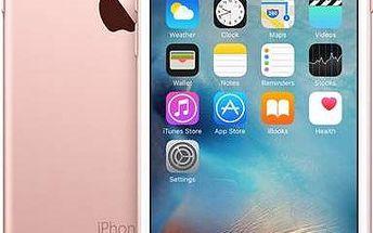 Mobilní telefon Apple iPhone 6s 128GB - Rose Gold (MKQW2CN/A) růžový Stavebnice Lego Castle 70400 Lesní léčka (zdarma)+ Software F-Secure SAFE 6 měsíců pro 3 zařízení v hodnotě 999 Kč+ Power Bank GoGEN 2600 mAh, černo-bílá barva v hodnotě 199 Kč+ Voucher
