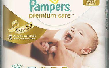 Pampers Premium Care 2 Mini 96ks (3-6kg) JUMBO Pack - jednorázové pleny