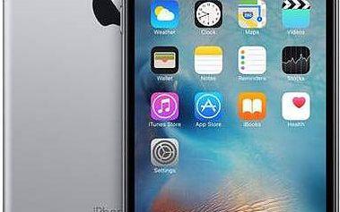 Apple iPhone 6s Plus 16GB - Space Gray (MKU12CN/A) šedý + Voucher na skin Skinzone pro Mobil CZ v hodnotě 399 Kč jako dárek+ dárek Power Bank Coolpad EBC100C, 10400mAh - stříbrná (zdarma) + Doprava zdarma
