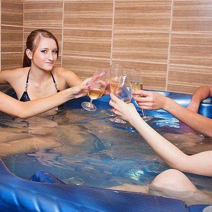 90 minut privátní sauny a vířivky pro 2–4 osoby