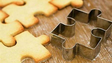Vykrajovátko v podobě puzzle - skladovka - poštovné zdarma