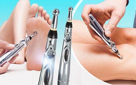 Energetické akupunkturní pero - úleva od bolestí kloubů a svalů + odstranění vrásek a kruhů pod očima!