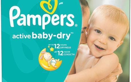 Pampers Active Baby 5 junior 11-18kg, 126 ks - jednorázové pleny