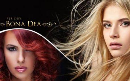 Kadeřnický balíček pro Vaše vlasy. Mytí, střih, foukaná, styling pro všechny délky vlasů + 20% sleva na barvení.