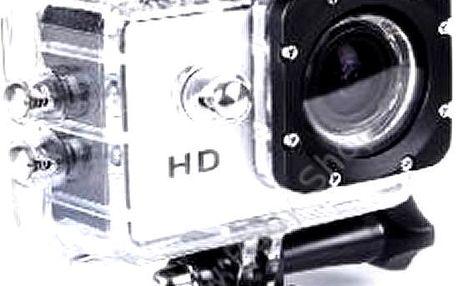 Outdoorová vodotěsná HD kamera. Lze používat do vody, na kolo, na přilbu atd.!
