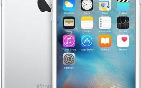 Apple iPhone 6s 16GB - Silver (MKQK2CN/A) stříbrný + Voucher na skin Skinzone pro Mobil CZ v hodnotě 399 Kč jako dárek + Doprava zdarma