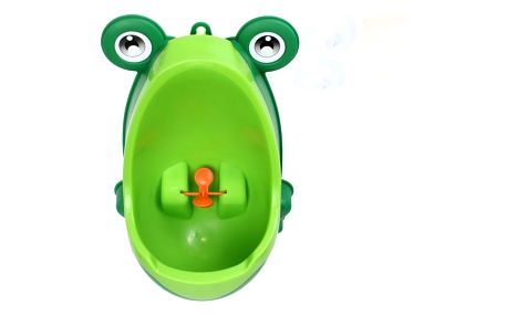 Dětský pisoár v podobě žabičky - zelená - dodání do 2 dnů