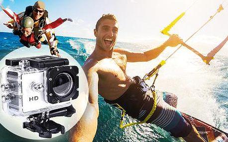Outdoorová vodotěsná HD kamera