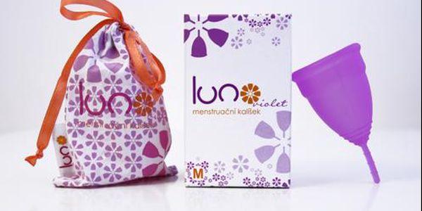 Menstruační kalíšek LUNO Violet s poštovným zdarma