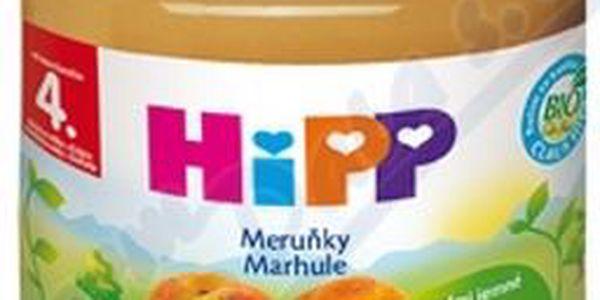 HIPP OVOCE BIO meruňky 125g