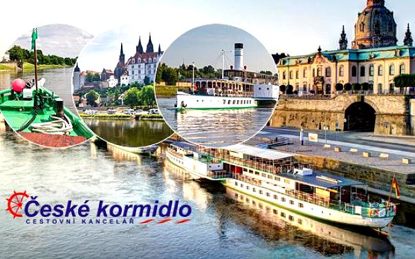 Velkolepá májová slavnost parníků v Drážďanech (1. 5. 2016) – zájezd do Německa (Sasko)