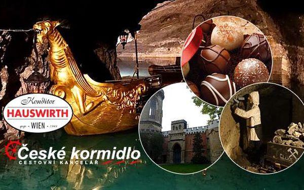 Kouzelný zámek Laxenburg, čokoládovna a plavba po podzemním jezeře! Zájezd do Rakouska