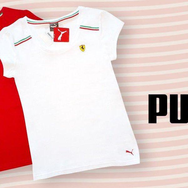 Dámská Ferrari trička od značky Puma
