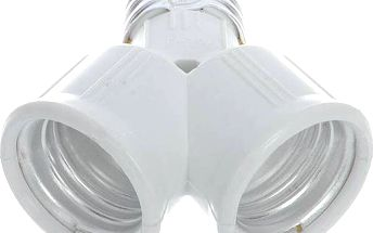 Rozdvojka pro žárovky s paticí E27 - poštovné zdarma