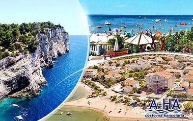 Chorvatsko ostrov Vir! 8 dní pro 1 osobu v apartmánu poblíž moře + 1 hod. tenisu nebo vstup do fitness! Letní termíny.