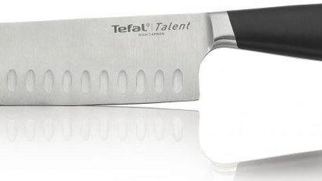 Tefal Ingenio nerezový japonský nůž santoku 18 cm K0910614