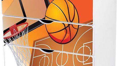Dětská šuplíková komoda Basket