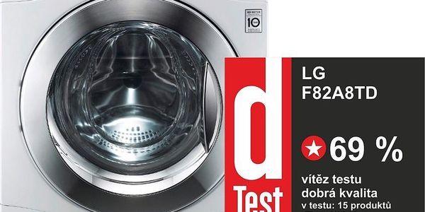 Pračka s Direct Drive motorem LG F82A8TD + 10 let záruka na motor